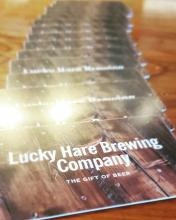 Gift cards available at Lucky Hare The Gift of Beer
