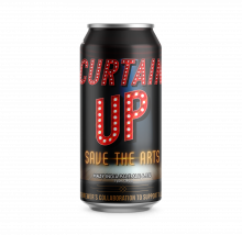 Curtain Up - Triple DH Hazy IPA